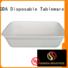 in bulk biodegradable eco friendly plates hinged HENGDA Disposable Tableware Brand
