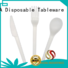 eco friendly cutlery biodegradable high grade disposable HENGDA Disposable Tableware Brand company
