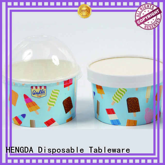 Wholesale for wholesale pink paper bowls HENGDA Disposable Tableware Brand
