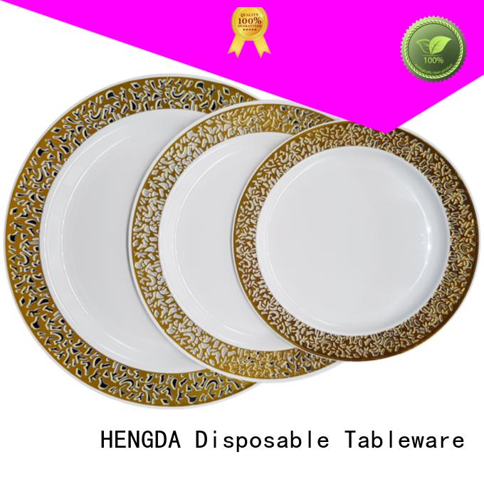 party ps elegant disposable dinnerware elegant HENGDA Disposable Tableware Brand