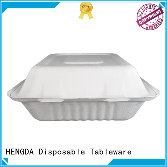 Bagasse Bowls bagasse party compostable bowls in bulk HENGDA Disposable Tableware Brand