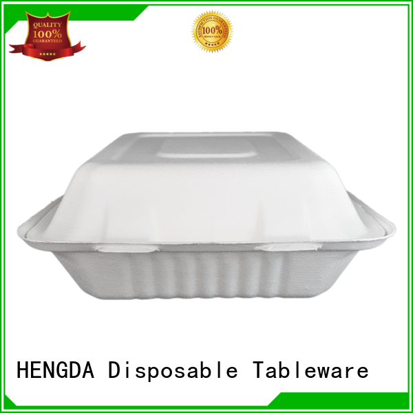HENGDA Disposable Tableware Brand bagasse biodegradable compostable bowls environment-friendly factory