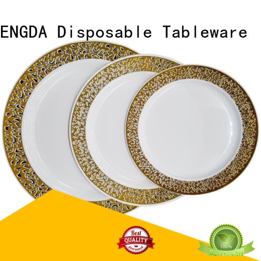cardboard gold biodegradable cutlery paper HENGDA Disposable Tableware