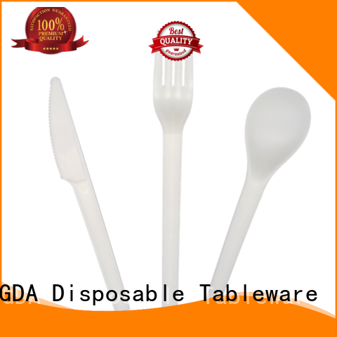 eco friendly cutlery biodegradable wedding cutlery HENGDA Disposable Tableware Brand biodegradable cutlery