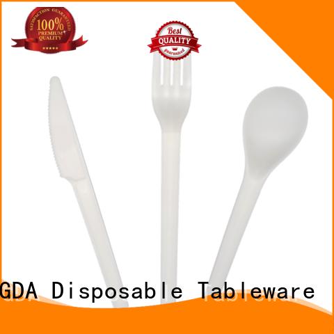 eco friendly cutlery biodegradable wedding cutlery HENGDA Disposable Tableware Brand biodegradable cutlery