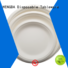 eco friendly disposable plates for wedding green HENGDA Disposable Tableware Brand eco friendly plates