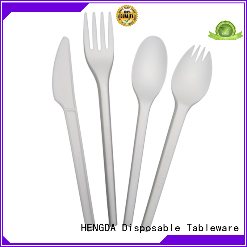 eco friendly cutlery cutlery wedding Bulk Buy green HENGDA Disposable Tableware
