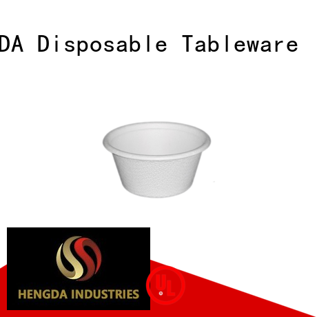 HENGDA Disposable Tableware Brand biodegradable eco friendly cups Eco-friendly factory