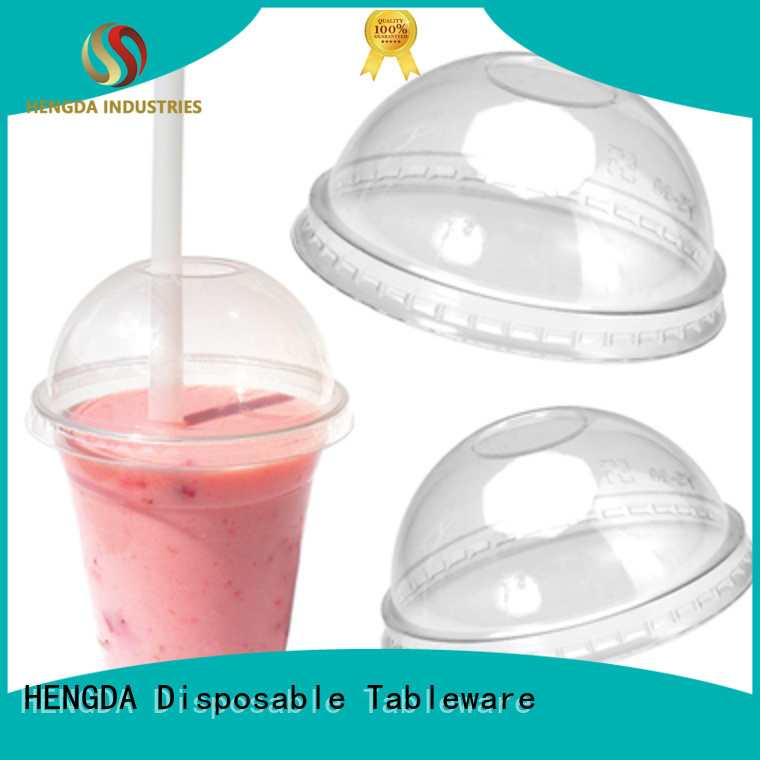 Quality HENGDA Disposable Tableware Brand water cold drink plastic plates and cups