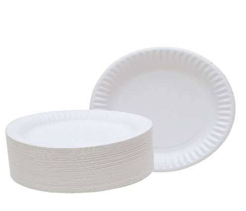 wedding food green quality paper plates HENGDA Disposable Tableware manufacture