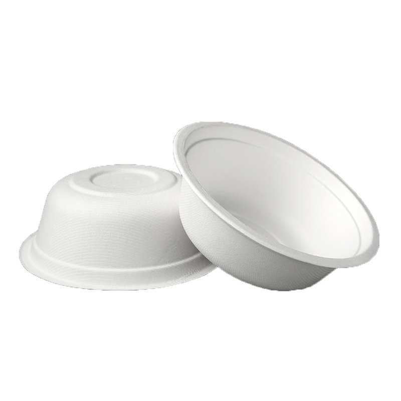 HENGDA Disposable Tableware Biodegradable and Compostable Sugarcane Bagasse Bowl Bagasse Bowl/Container image7
