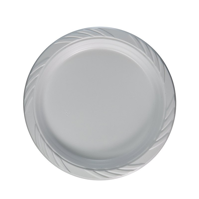 100% Food Grade PS  White and Colorful Plastic Plate