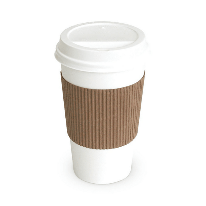 HENGDA Disposable Tableware Single Wall Disposable Cup with Lid for Hot and Cold Drinks Disposable Paper Cup image7