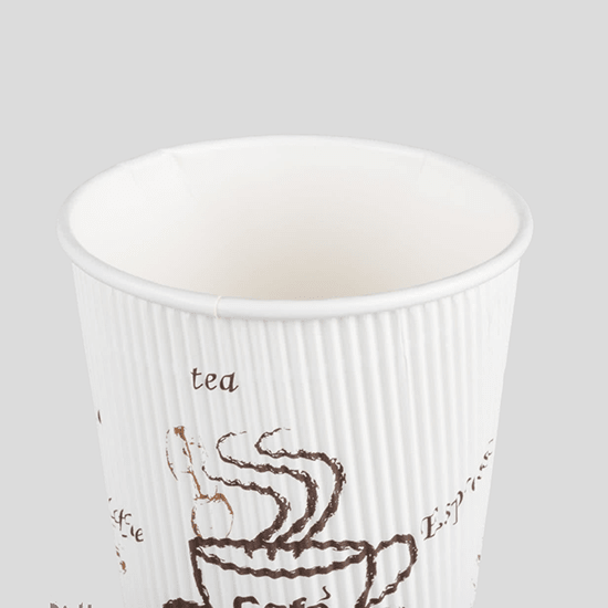 disposable ripple wall cold drink HENGDA Disposable Tableware Brand disposable cups manufacturer manufacture