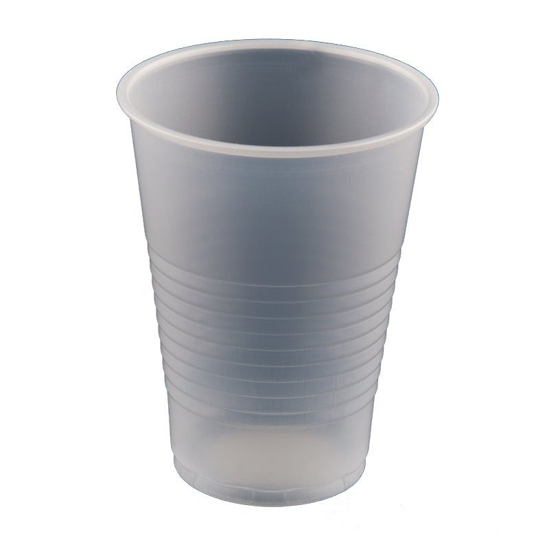 HENGDA Disposable Tableware 100% Food Grade  PP Plastic Water Cup Disposable Plastic Cup image2