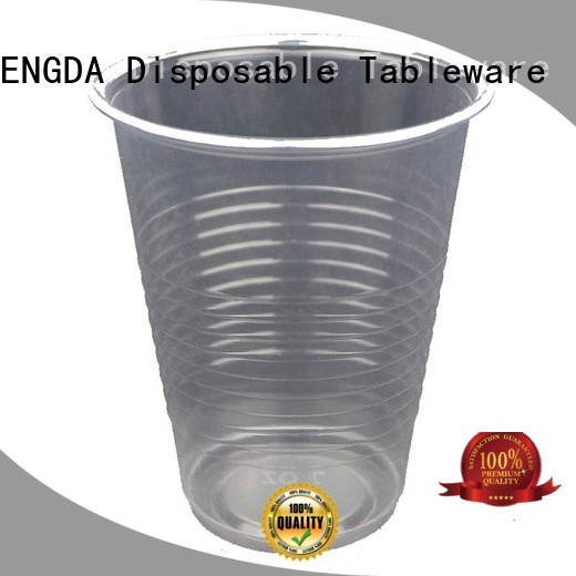 wholesale plates and cups pp plastic HENGDA Disposable Tableware Brand plastic plates and cups