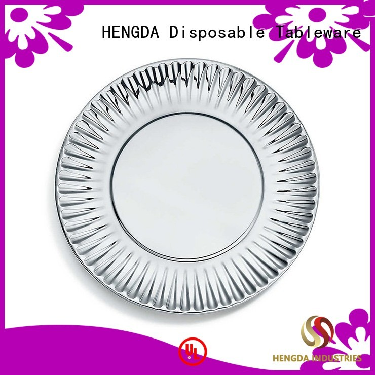 plates quality paper plates in bulk HENGDA Disposable Tableware company