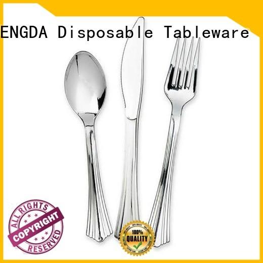 eco friendly cutlery cups grade party Warranty HENGDA Disposable Tableware