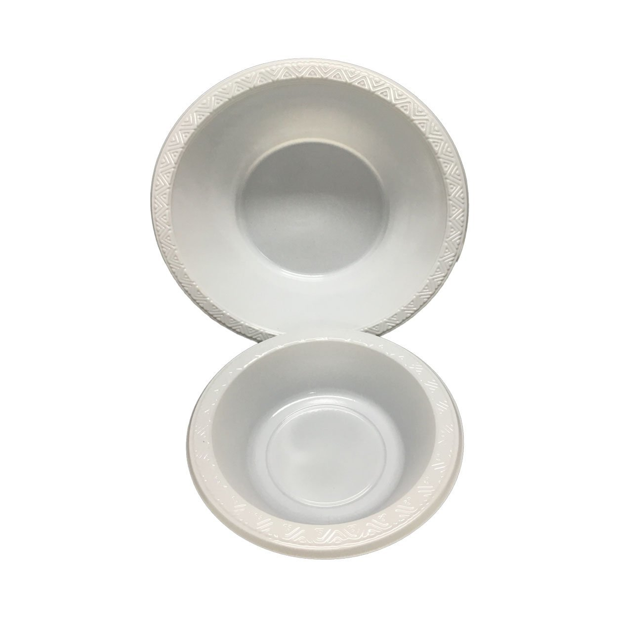 HENGDA Disposable Tableware 100% Food Grade PS White and Colorful Plastic Bowl Disposable Plastic Bowl image1