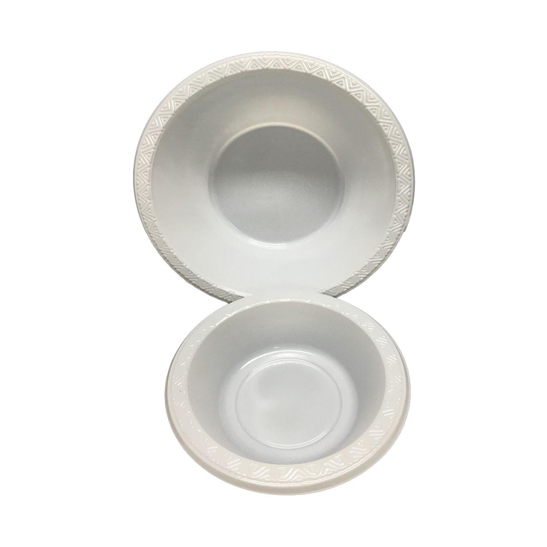 Hot disposable plates and bowls 100% food grade HENGDA Disposable Tableware Brand
