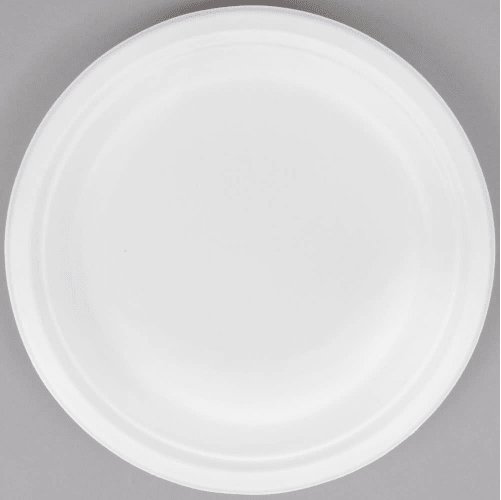 HENGDA Disposable Tableware Brand compostable in bulk wedding hinged eco friendly plates