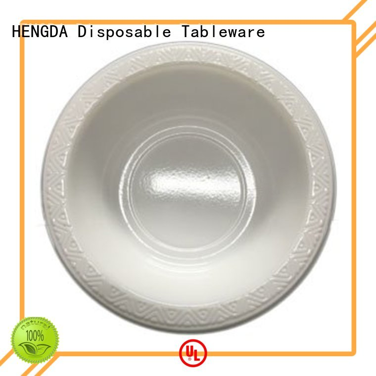 bowl Custom disposable small plastic party bowls ps HENGDA Disposable Tableware
